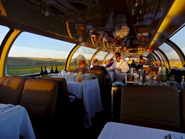 Conquering Canada with Luxury Train-the Train-Canadian
