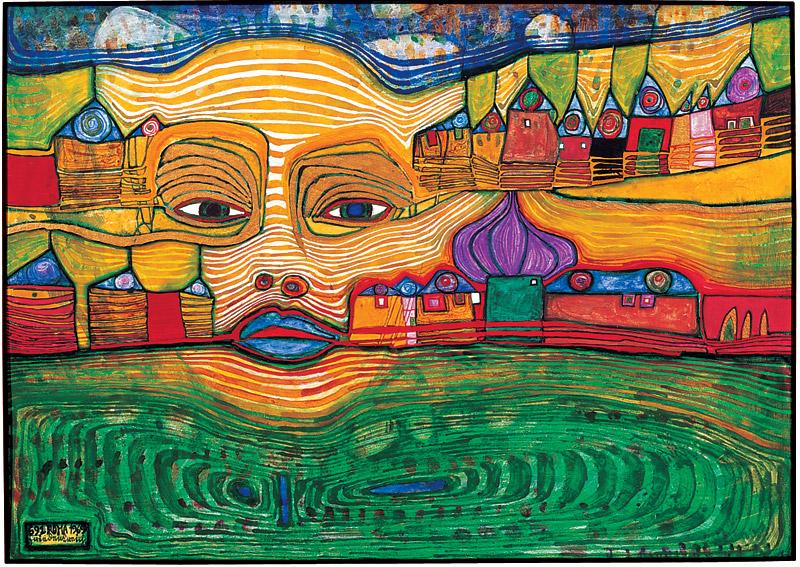 Hundertwasser Painting 1