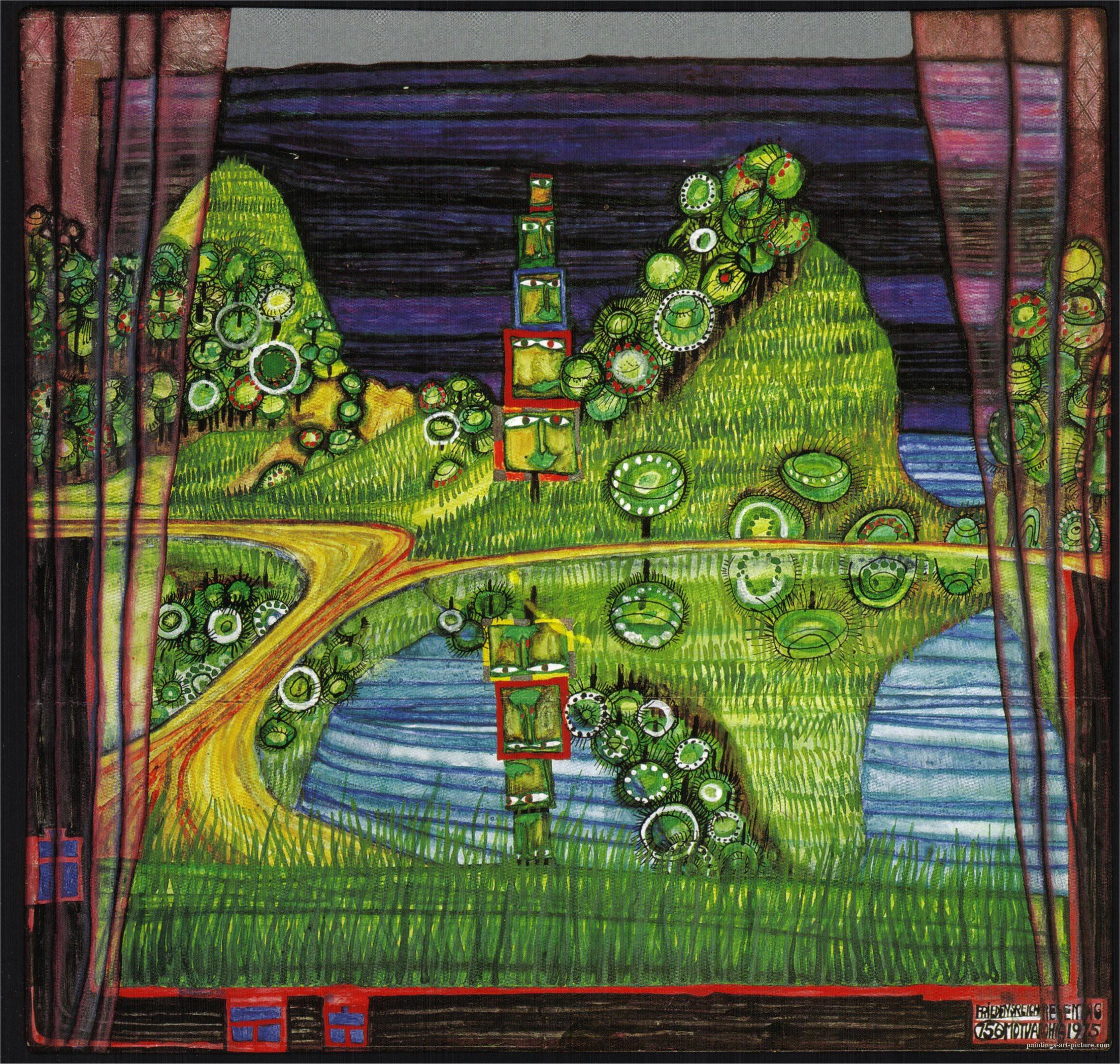 Hundertwasser-Paintings-1975-antipode-island