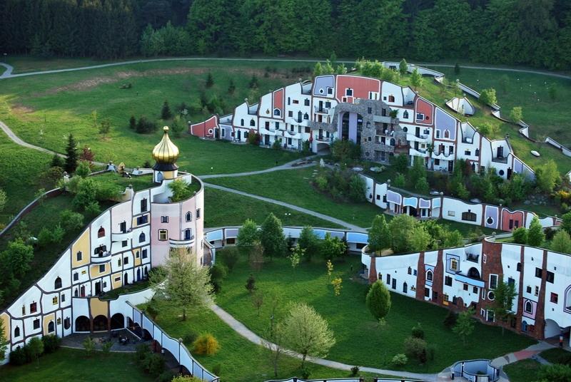 Hundertwasser Village Blumau in Italy