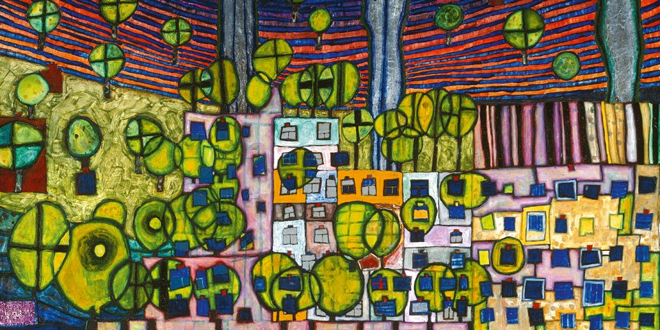 Hundertwasser the Different Odd - PRE-TEND Be curious.