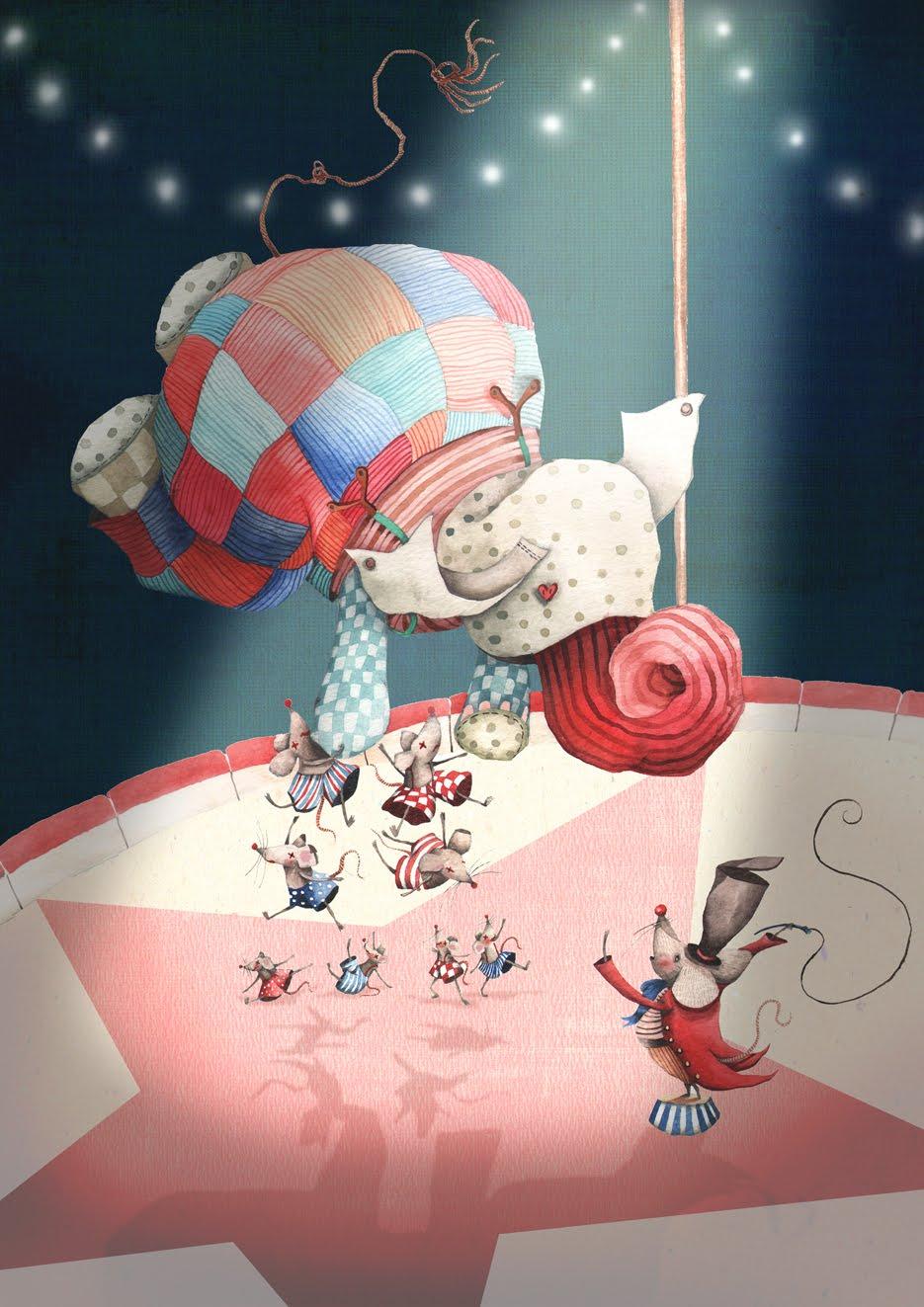 Mouse circus flat blog