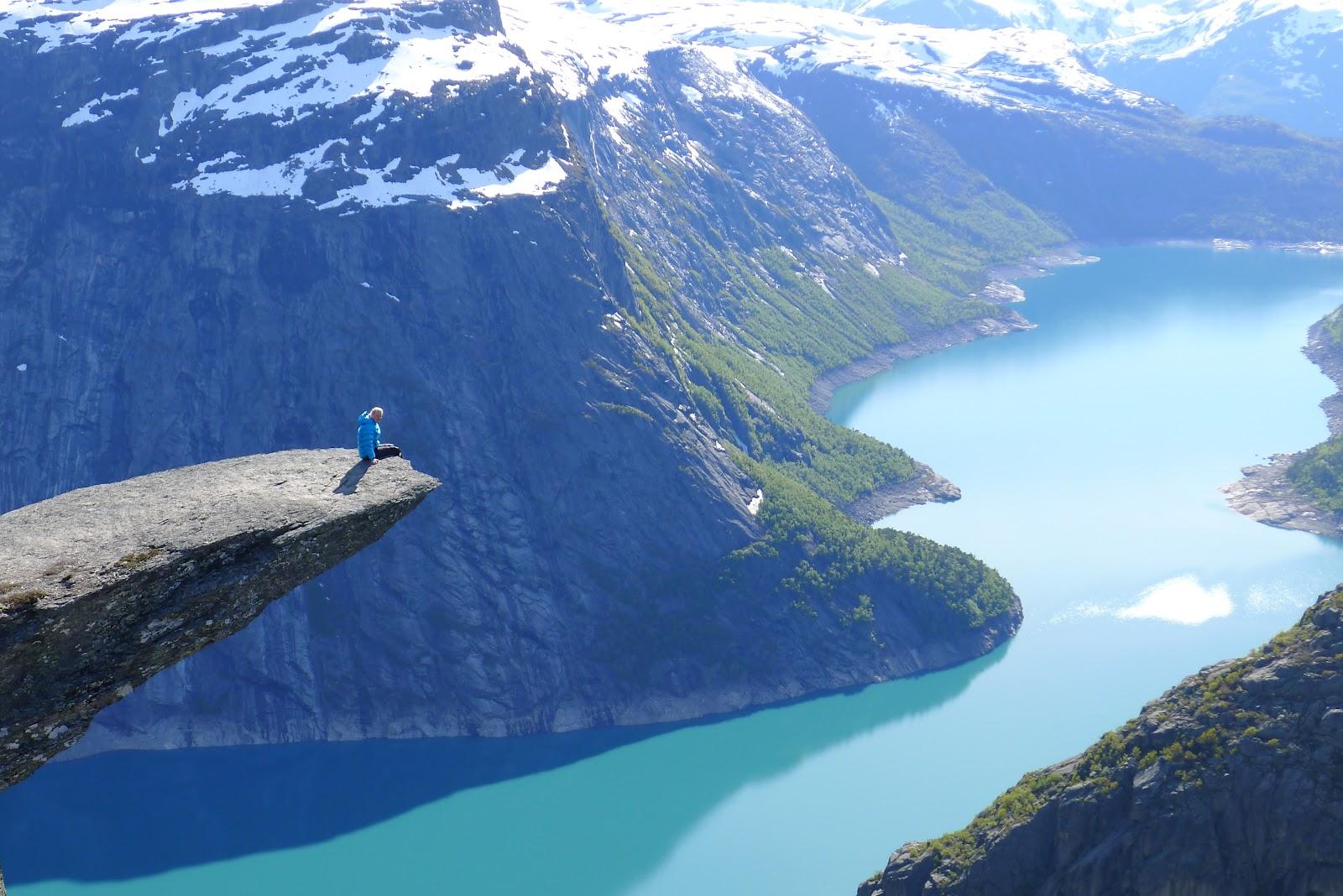 Norwegian Rock above Lake