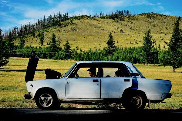 Tuva's car