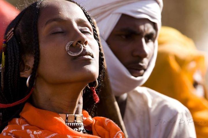 a woman of Toubou tribe