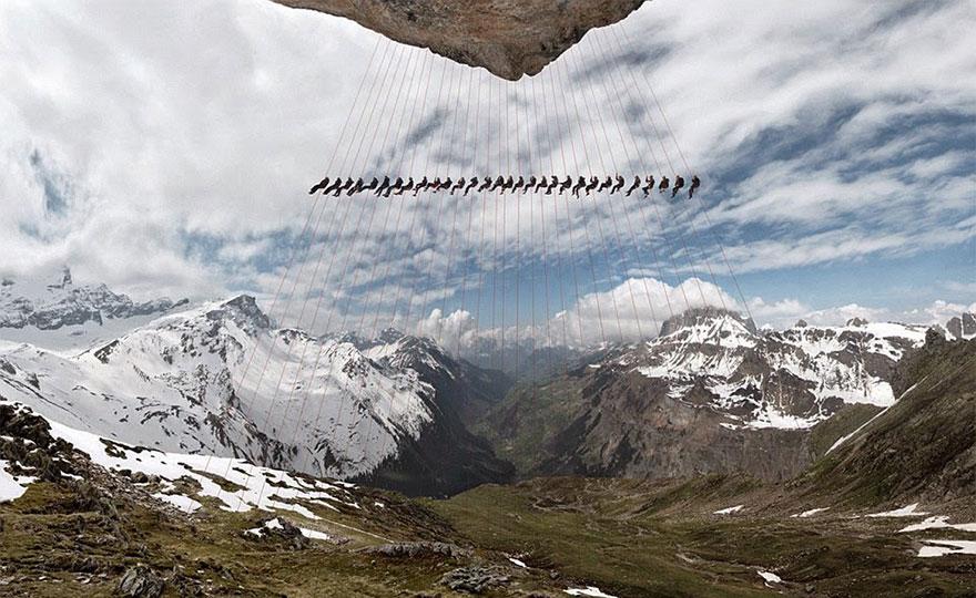 Alps Mountain photograph 3