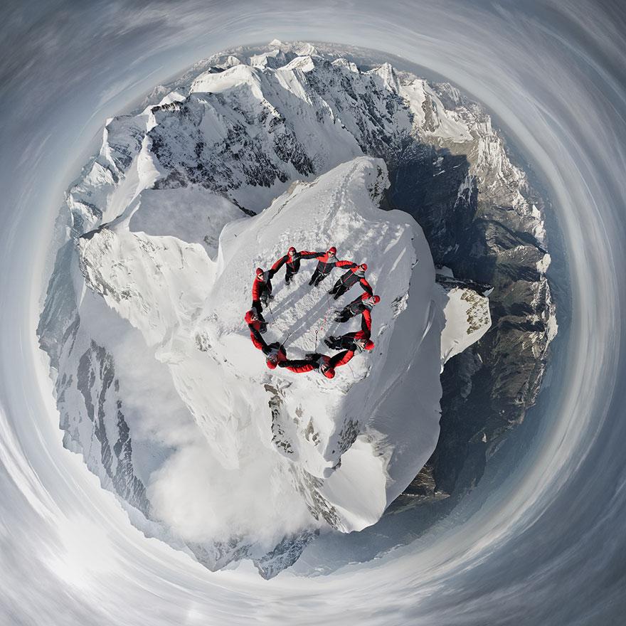 Alps Mountain photograph 5