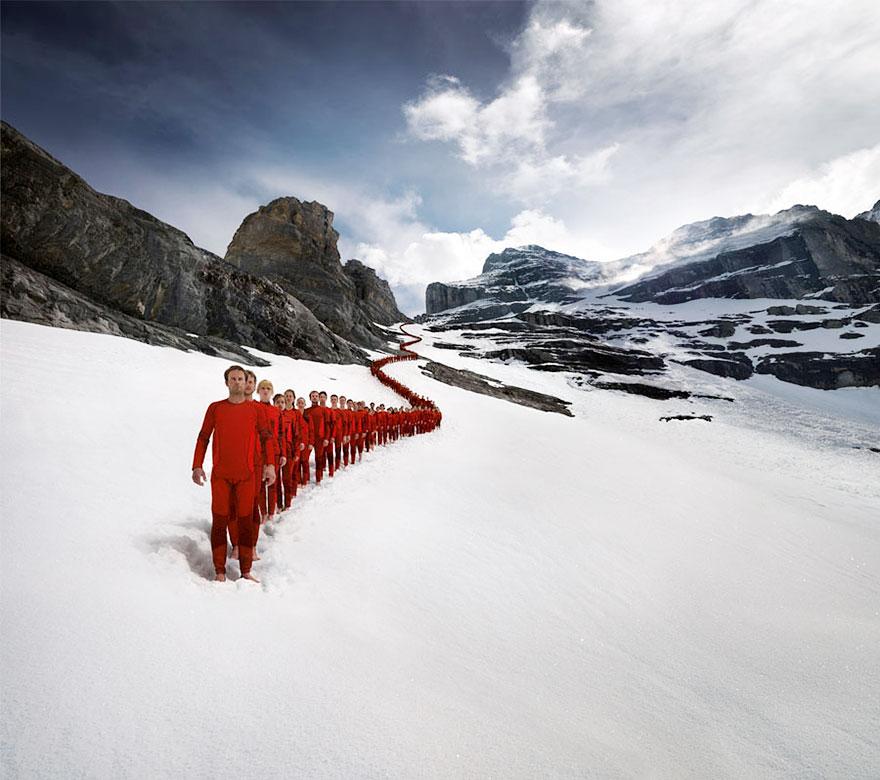 Alps Mountain photograph 9