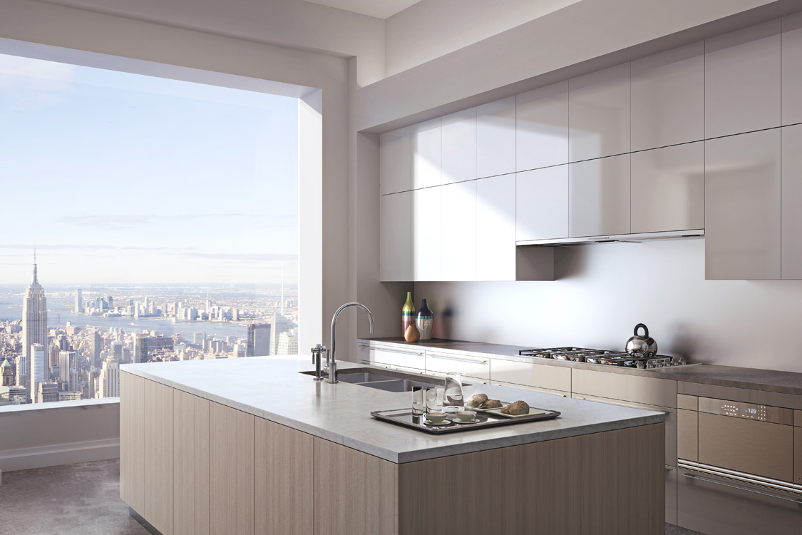 432 Park avenue Kitchen view