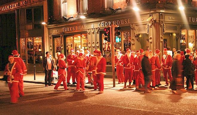 12 Pubs of Christmas, Dublin