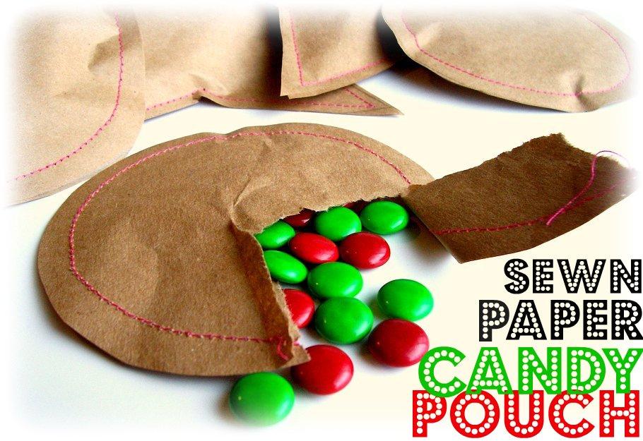 Christmas handmade wrap for sweets