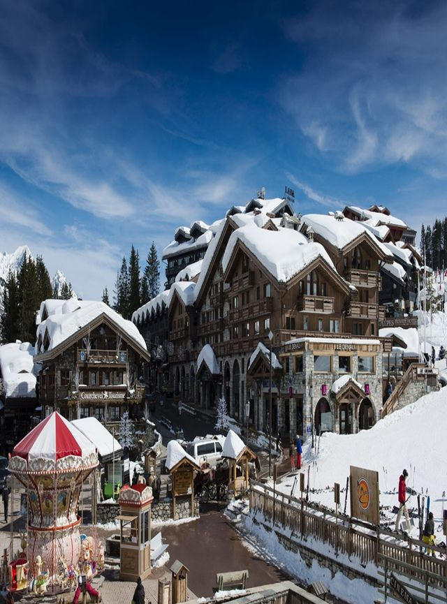 Courchevel Resort Houses