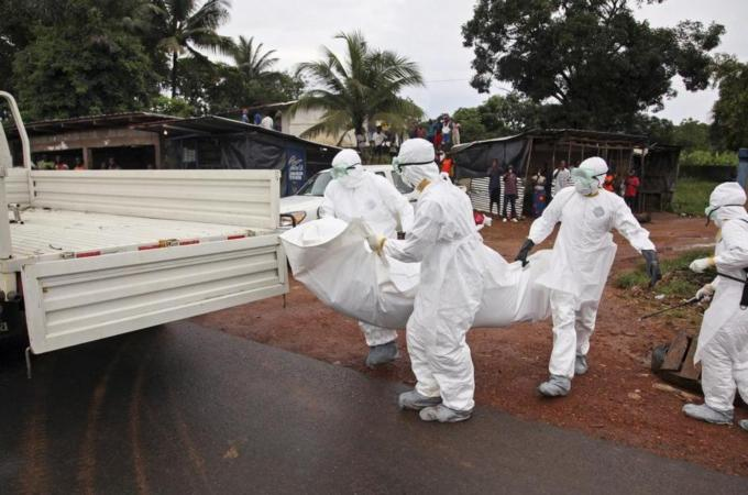 Ebola Patients and doctors