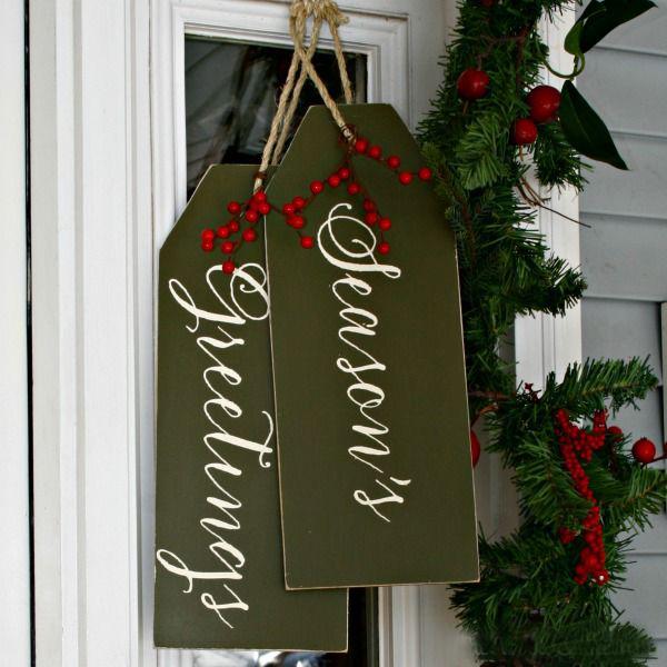 Front Door Christmas Greetings