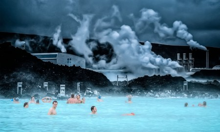 Geothermal waters Iceland