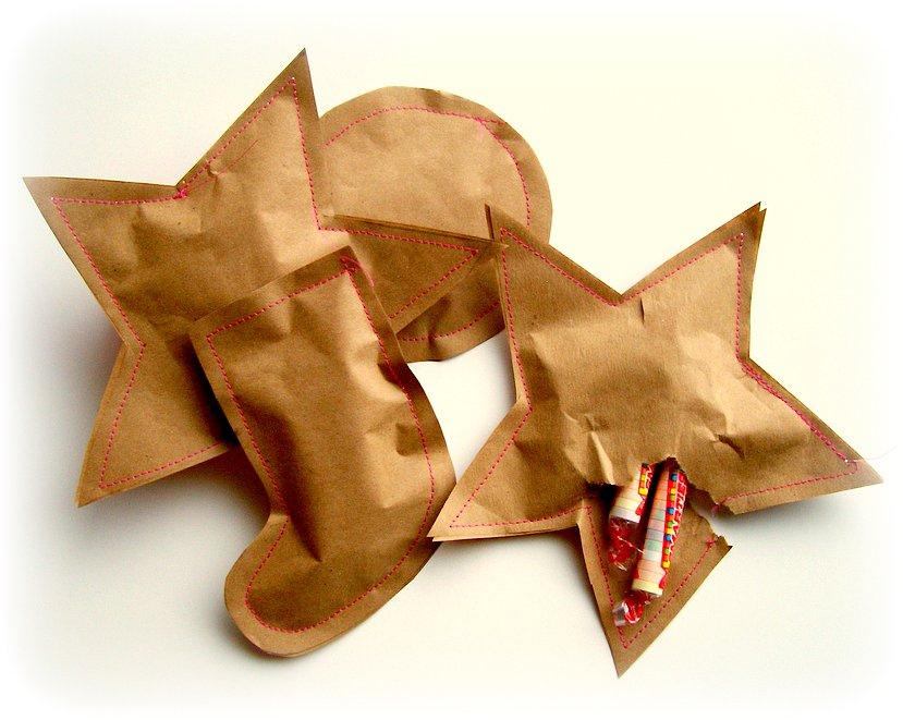 Handmade Christmas sweets wrap ideas