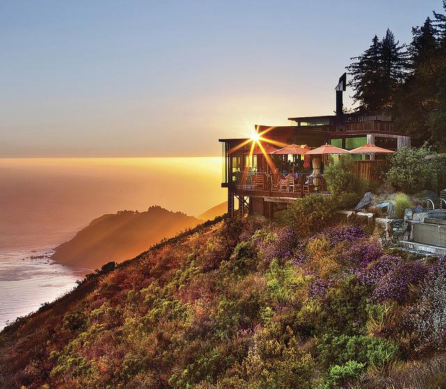 Hotel Post Ranch in California ocean view