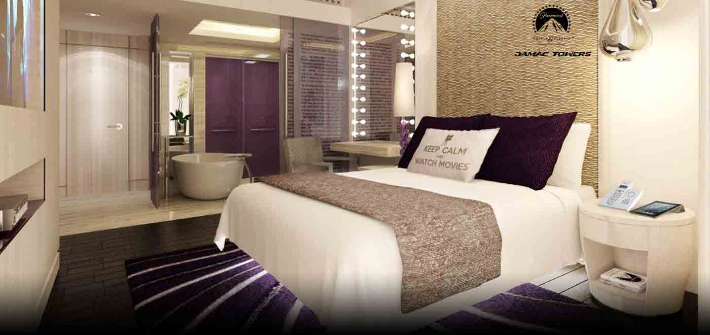 Paramount bedroom