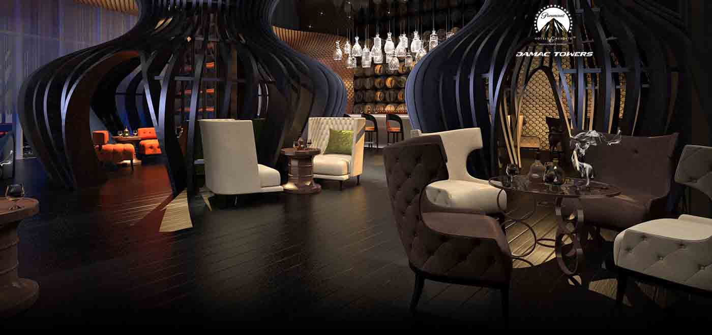 Paramount cigar lounge