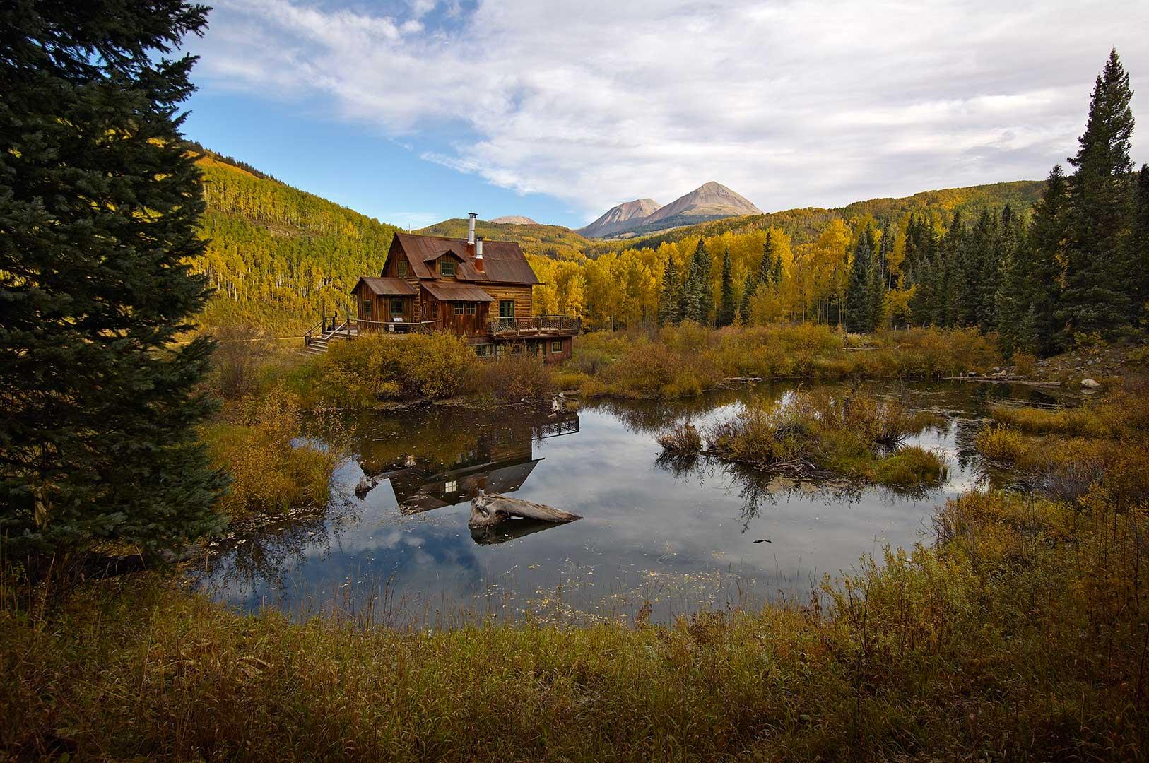 Potter House in Dunton Hot Springs Colorado