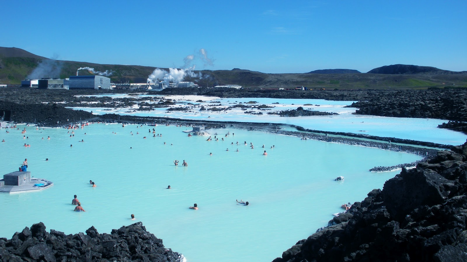 The blue lagoon Iceland Geothermal waters