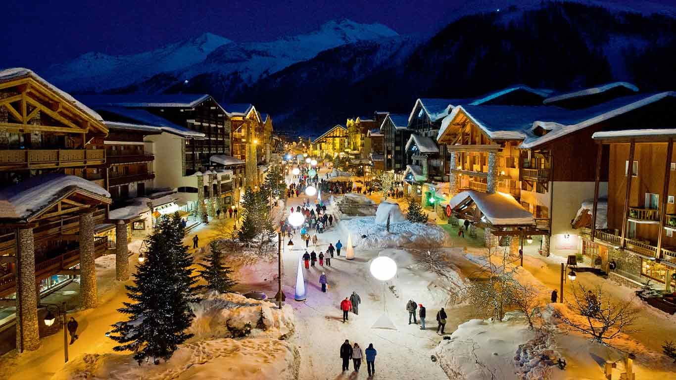 World Famous Destination for Skiers