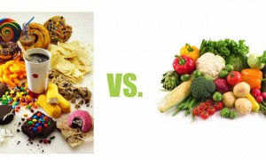 candies vs bio food