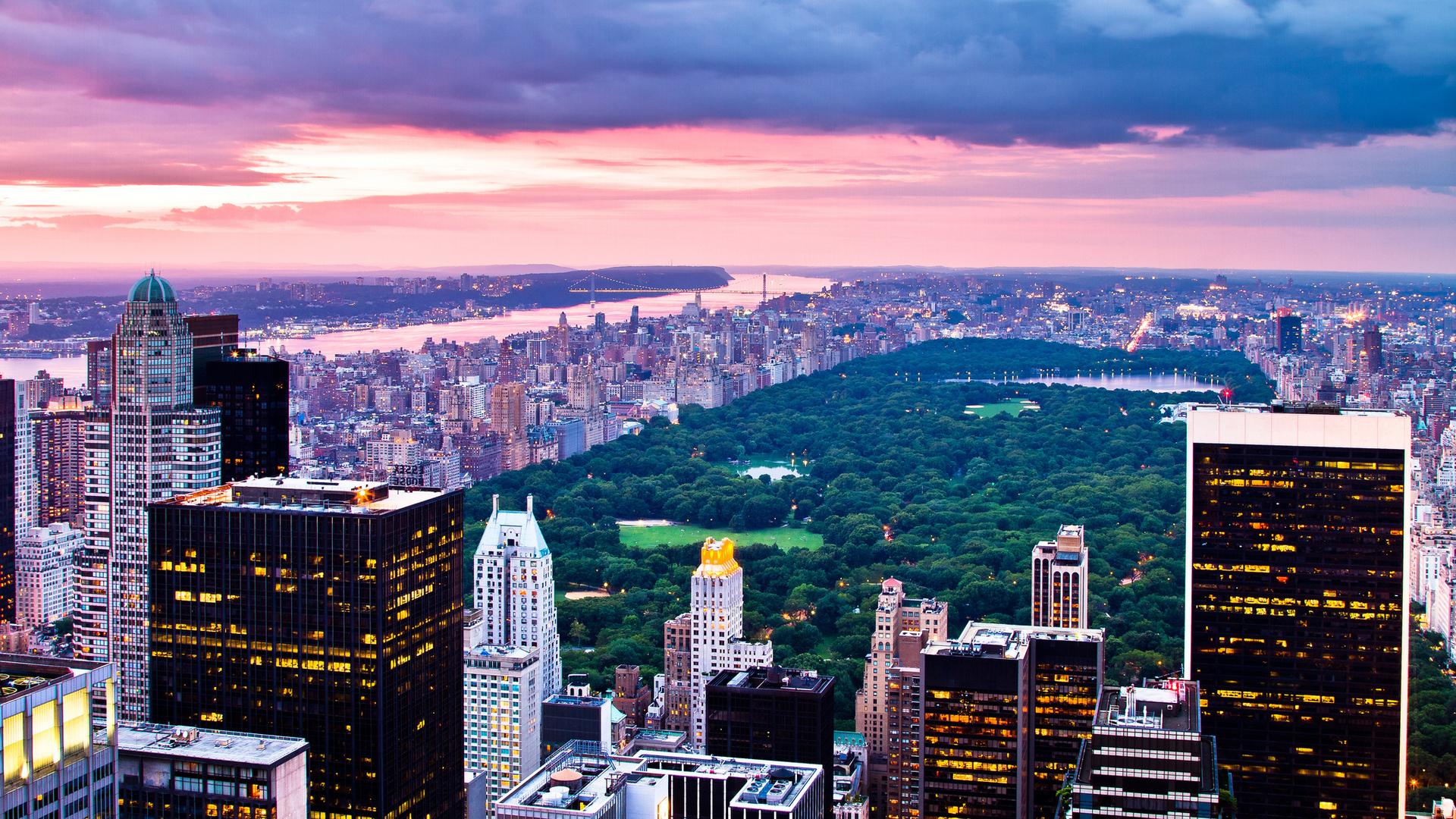 new york central park lights