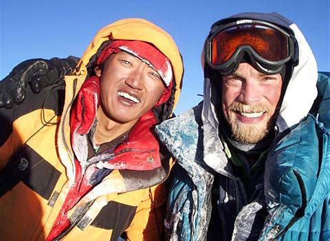 Apa Sherpa and Phurba Tashi on Everest expedition