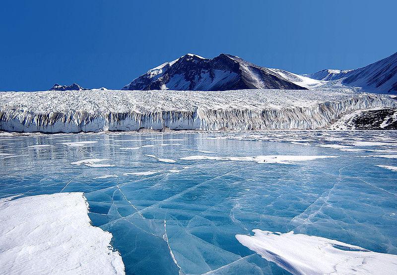 Arctic Ice breaks