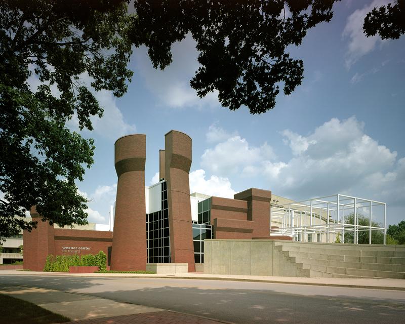 Center for the Arts Weiksnar Peter Eisenman, Ohio 2