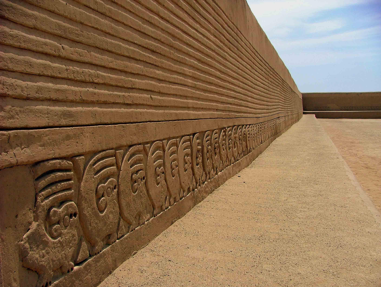 Chan Chan city in Peru