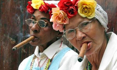 Cuban cigar smokers