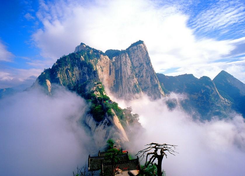 Huashan Mountain landscape