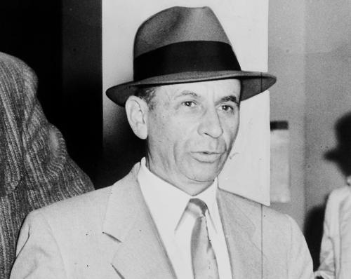Meyer Lansky portrait