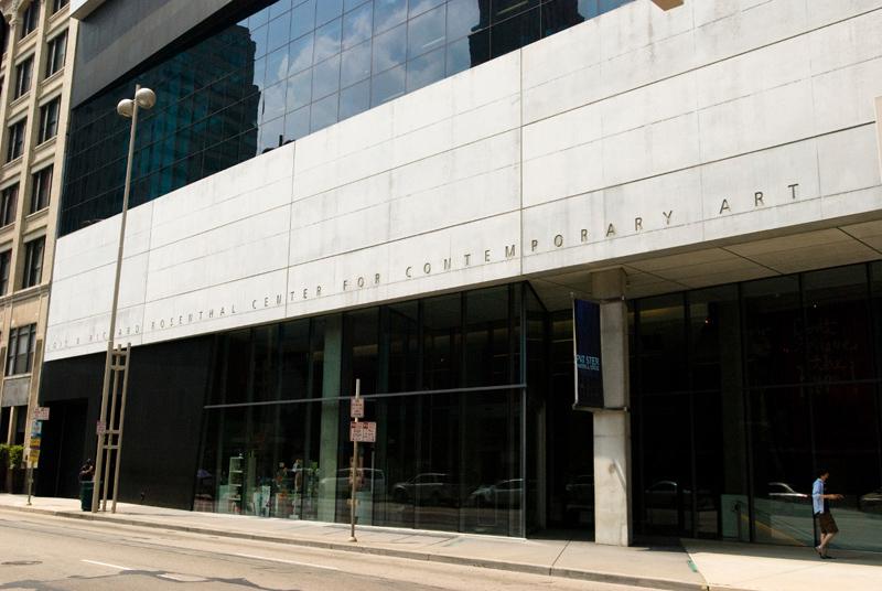 Modern arts center by Zaha Hadid, Ohio 2