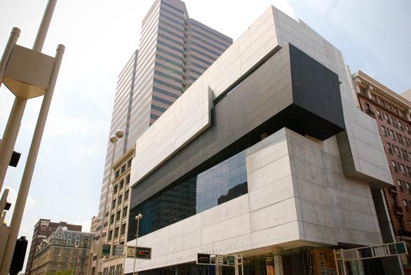 Modern arts center by Zaha Hadid, Ohio