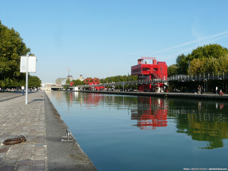 Park La Villette Bernard Tschumi, Paris 3
