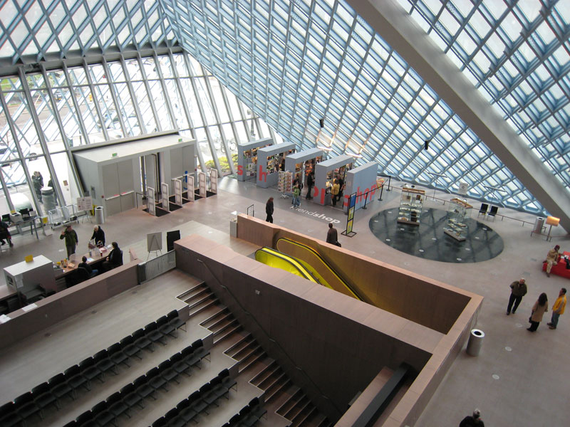 Seattle Central Library by Rem Koolhaas, Washington 2