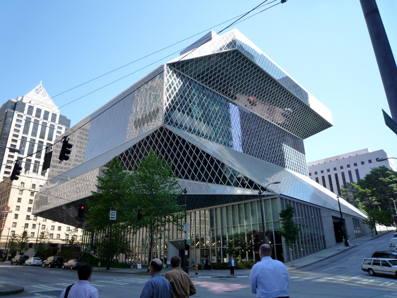 Seattle Central Library by Rem Koolhaas, Washington 3