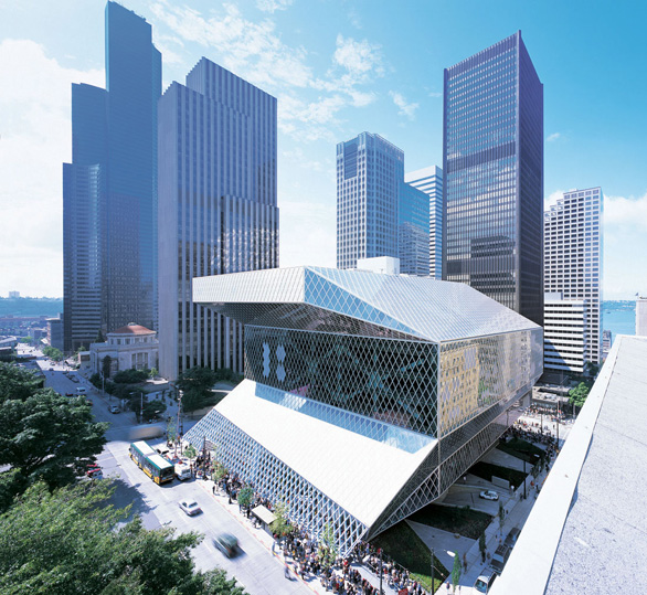 Seattle Central Library by Rem Koolhaas, Washington