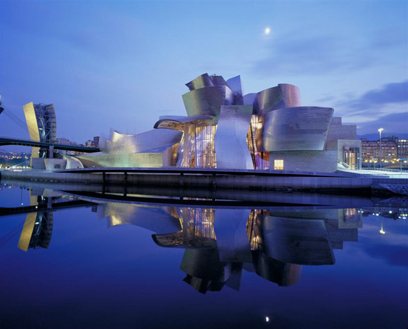 The Guggenheim Museum in Bilbao by Frank Gehry