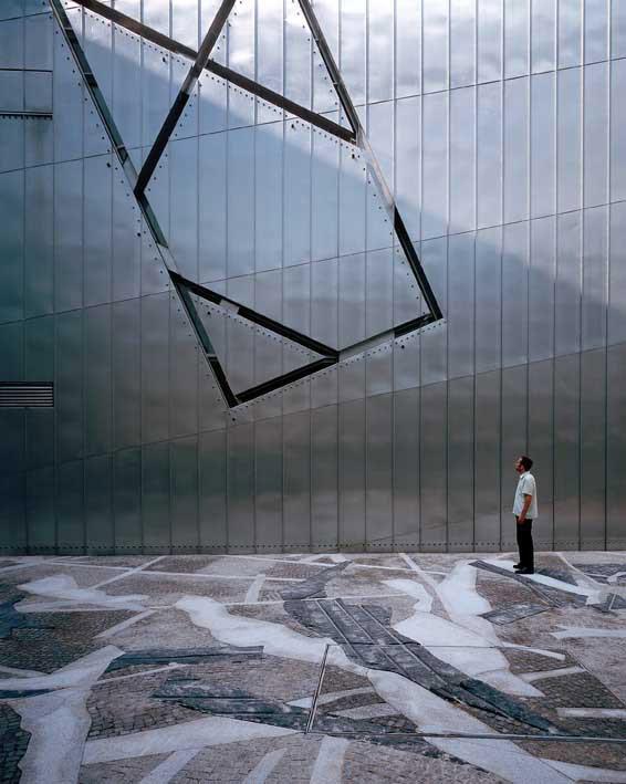 The Jewish Museum by Daniel Libeskind, Berlin 2