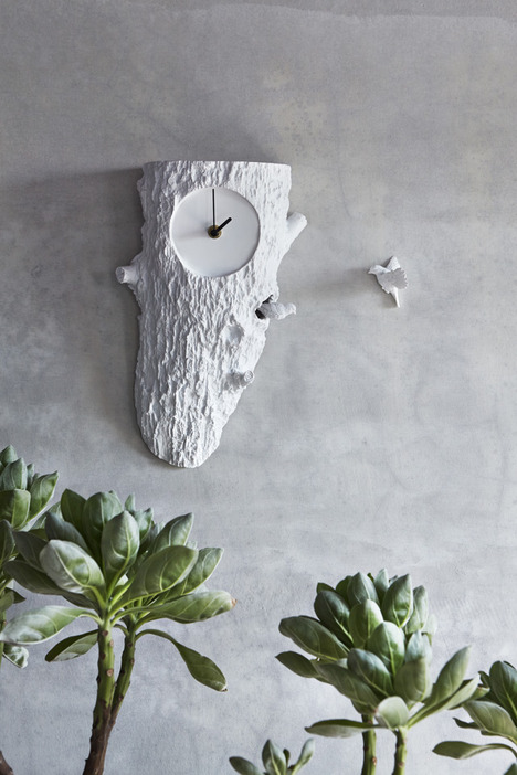 Unusual wall clock decoration 2