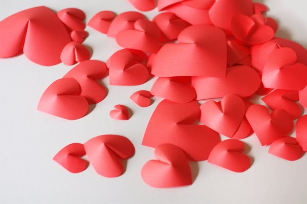 Valentine's day idea heart paper 5