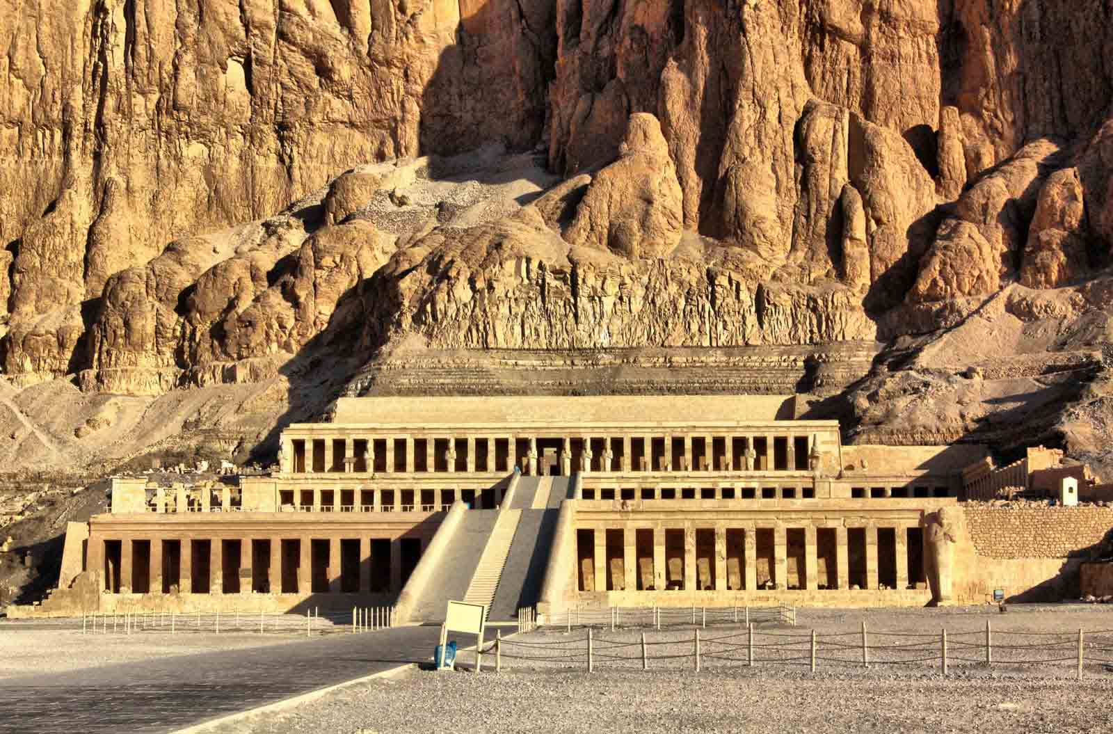 Valley of the Kings entrance travel