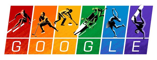 2014 Winter Olympics google logo