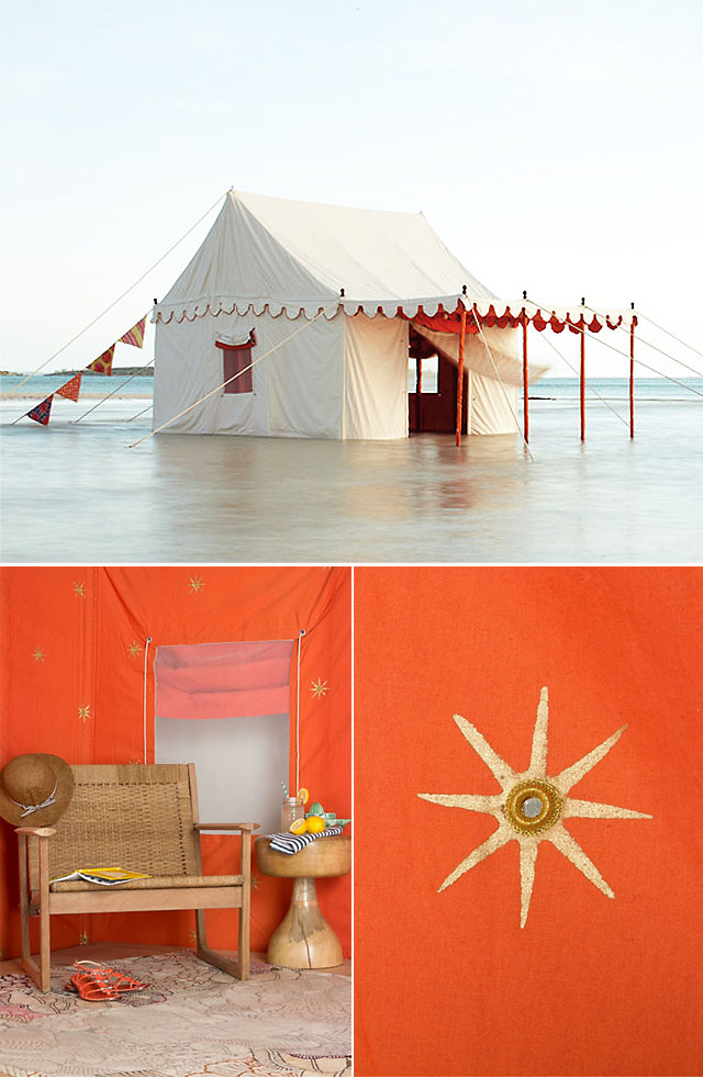 Beach Tent Palace designed