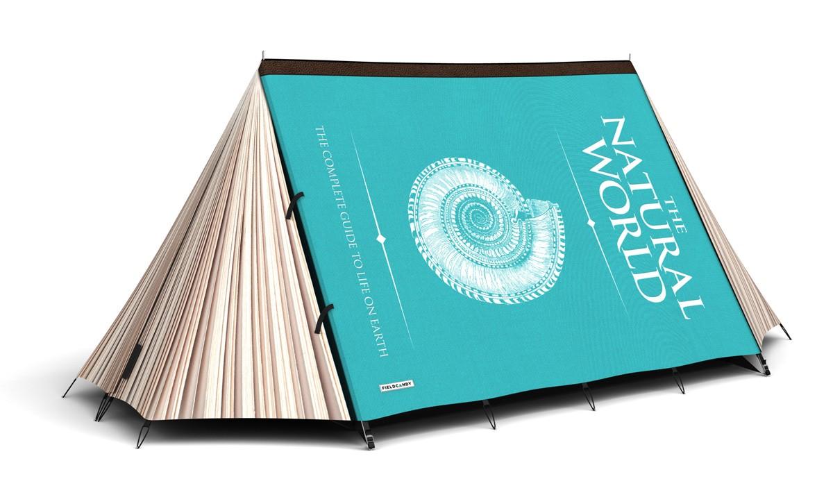 Creative designed tent Book tent