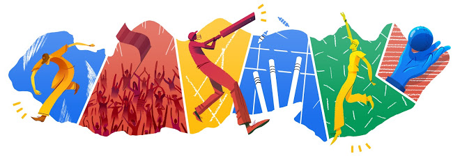Cricket T20 World Cup 2014 Final doodle